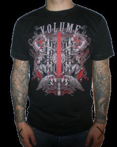 VOLUME 'Metalking' T-Shirt schwarz