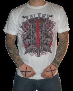 VOLUME 'Metalking' T-Shirt weiss