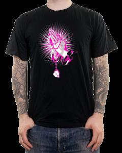 VOLUME 'Praying Hands' T-Shirt schwarz