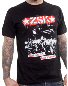ZSK 'Raise Your Voice' T-Shirt