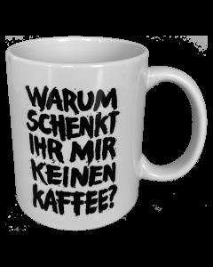 ZSK 'Kaffeeverrat' Tasse