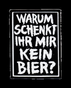 ZSK 'Bier?' Aufnäher