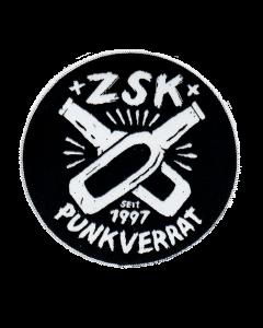 ZSK 'Punkverrat' Aufnäher Rund