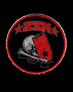 ZSK 'Skate' Aufnäher Rund