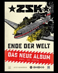 ZSK 'Ende der Welt' Poster