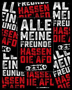 ZSK 'Alle meine Freunde' Sticker 10er Aufkleber Paket