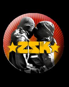 ZSK 'Herz für die Sache' Button