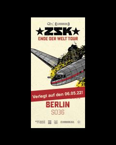 ZSK Eintrittskarte '06.05.22' Berlin