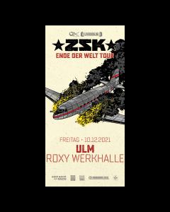 ZSK Eintrittskarte '10.12.21' Ulm