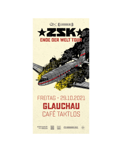 ZSK Eintrittskarte '29.10.21' Glauchau