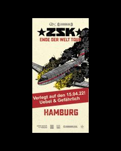 ZSK Eintrittskarte '15.04.22' Hamburg