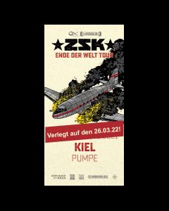 ZSK Eintrittskarte '26.03.22' Kiel