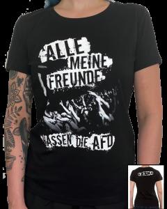 ZSK 'Freunde hassen die AFD' Girlie