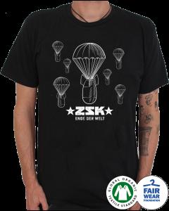 ZSK 'Fallschirme' T-Shirt schwarz