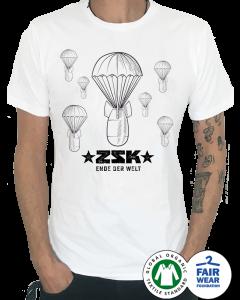 ZSK 'Fallschirme' T-Shirt weiss