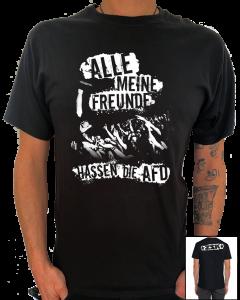 ZSK 'Freunde hassen die AFD' T-Shirt