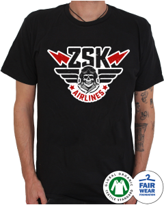 ZSK 'Airlines' T-Shirt
