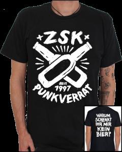 ZSK 'Punkverrat' black T-Shirt