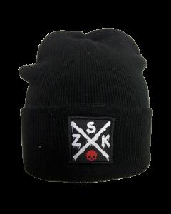 ZSK 'Cross' Wollmütze mit Weblabel