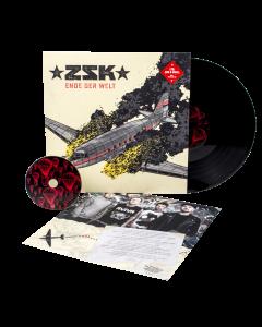 ZSK 'Ende der Welt' schwarzes Vinyl mit CD
