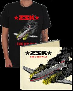ZSK 'Ende der Welt' CD Digipak mit T-Shirt