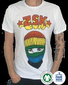 ZSK '1000 Farben' T-Shirt weiss