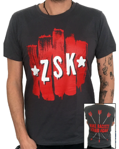 ZSK 'Make Racists Afraid Again' grey T-Shirt    *16€ statt 20€*